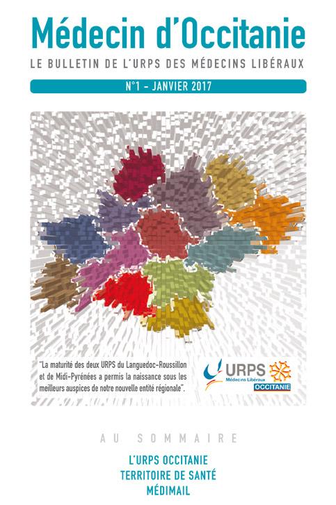 URPS médecin d'Occitanie bulletin N1 01-2017