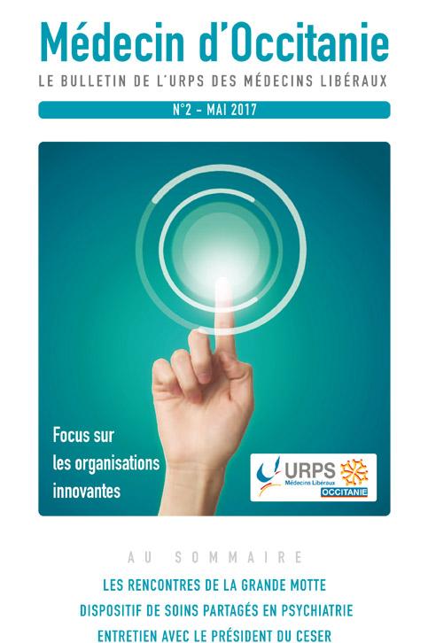 URPS médecin d'Occitanie bulletin N2 05-2017