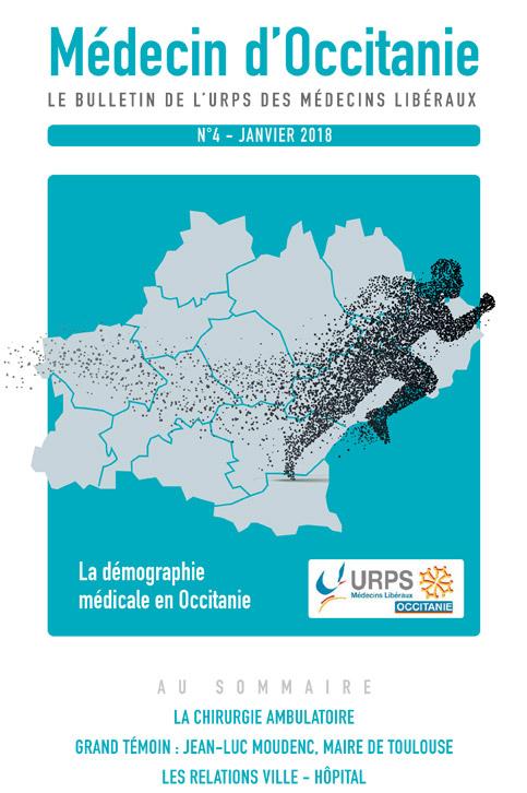 URPS médecin d'Occitanie bulletin N4 01-2018