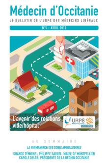 URPS médecin d'Occitanie bulletin N5 04-2018