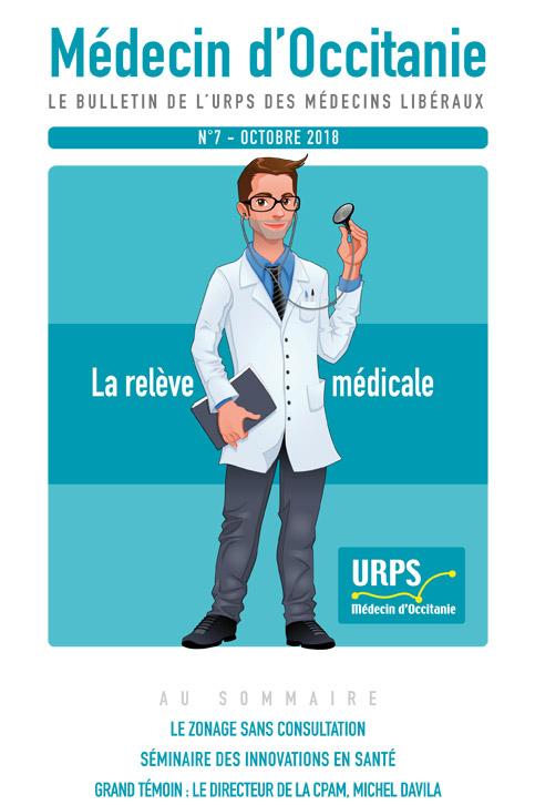 URPS médecin d'Occitanie bulletin N7 10-2018