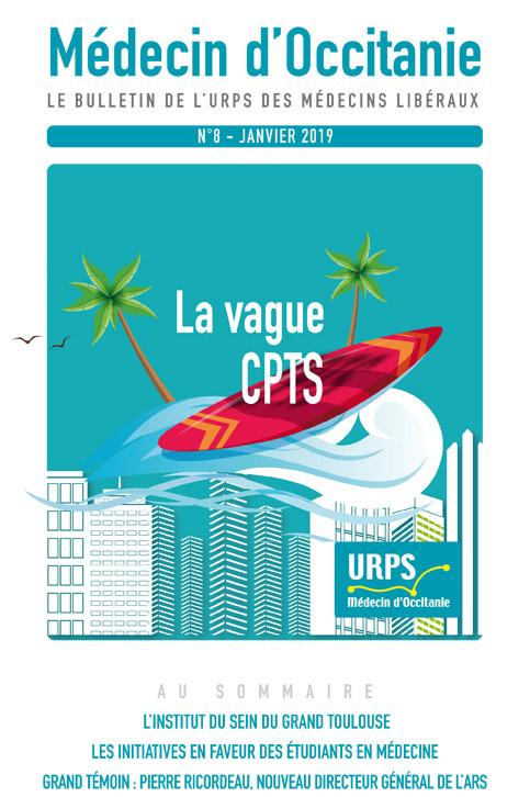 URPS médecin d'Occitanie bulletin N8 01-2019