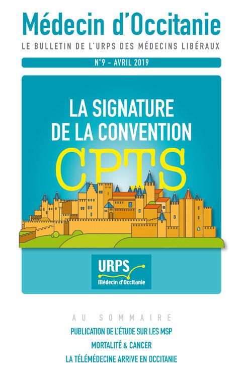 URPS médecin d'Occitanie bulletin N9 04-2019