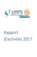URPS médecin d'Occitanie – Rapport d'activités 2017