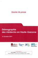 URPS médecin d'Occitanie – Démographie des médecins en Haute-Garonne