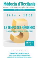 URPS médecin d'Occitanie bulletin N16-02-2021