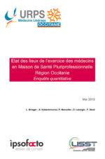 URPS Médecins d'Occitanie – Enquête sur l'exercice des médecins en MSP